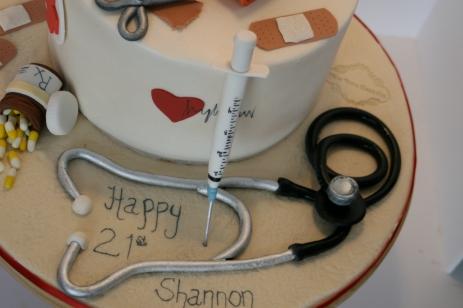 Nurse / Syringe / Cake